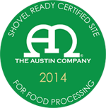 Shovel Ready Certified Site for Food Processing